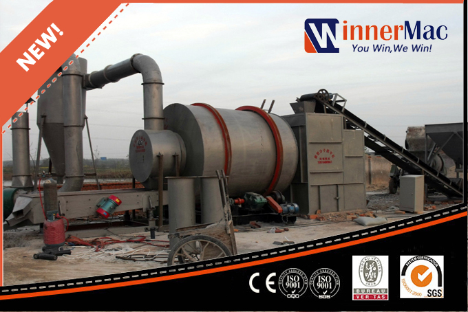 Silica Sand Rotary Dryer